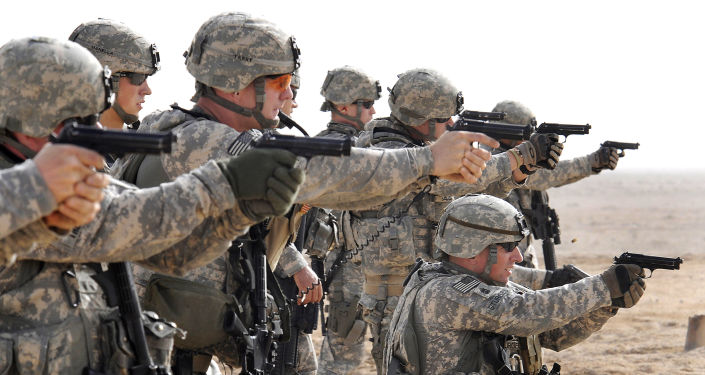 Amerykańscy żołnierze na szkoleniach w Iraku