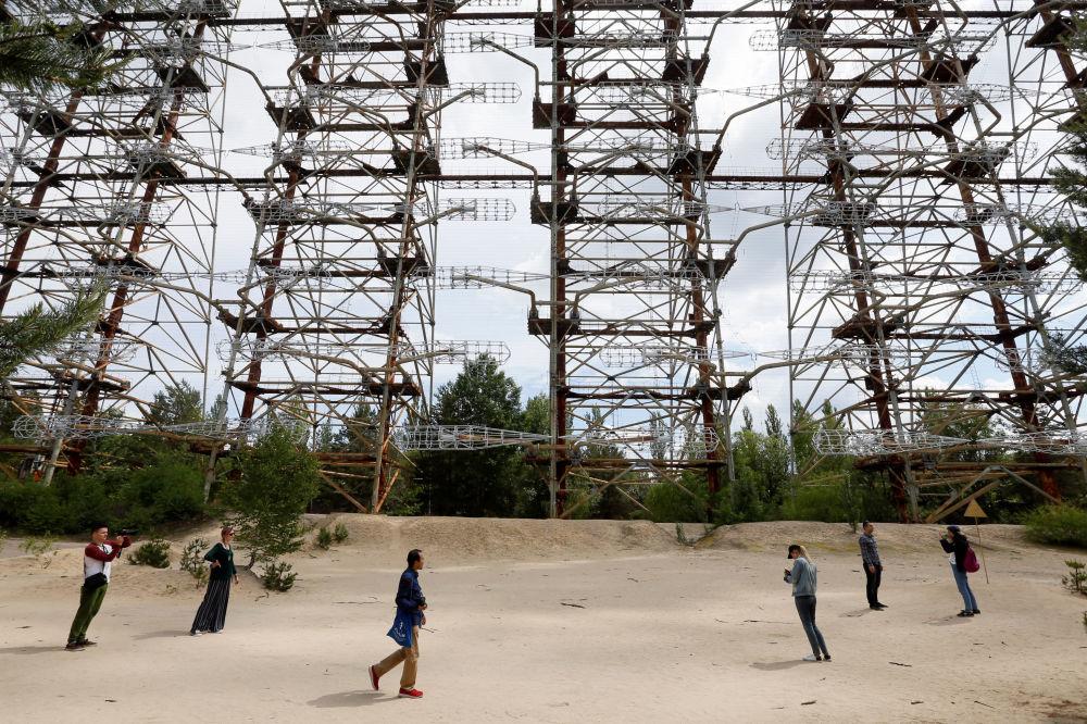 Radziecka stacja radarowa Duga w Czarnobylu