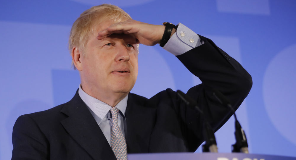 Były szef MSZ Wielkiej Brytanii Boris Johnson