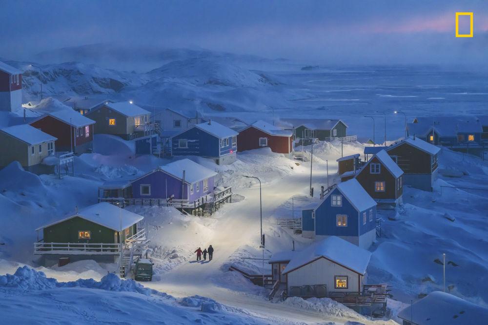 Greenlandic Winter - najlepsze zdjęcie National Geographic Travel Photo 2019. Autor: Weimin Chu