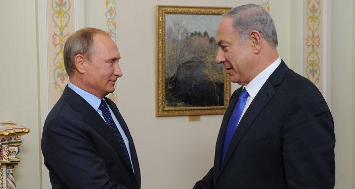 Władimir Putin i Binjamin Netanjahu