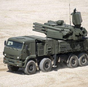 Samobieżny przeciwlotniczy zestaw artyleryjsko-rakietowy Pancyr-S1