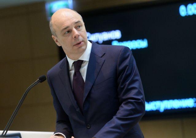 Minister finansów Rosji Anton Siłuanow