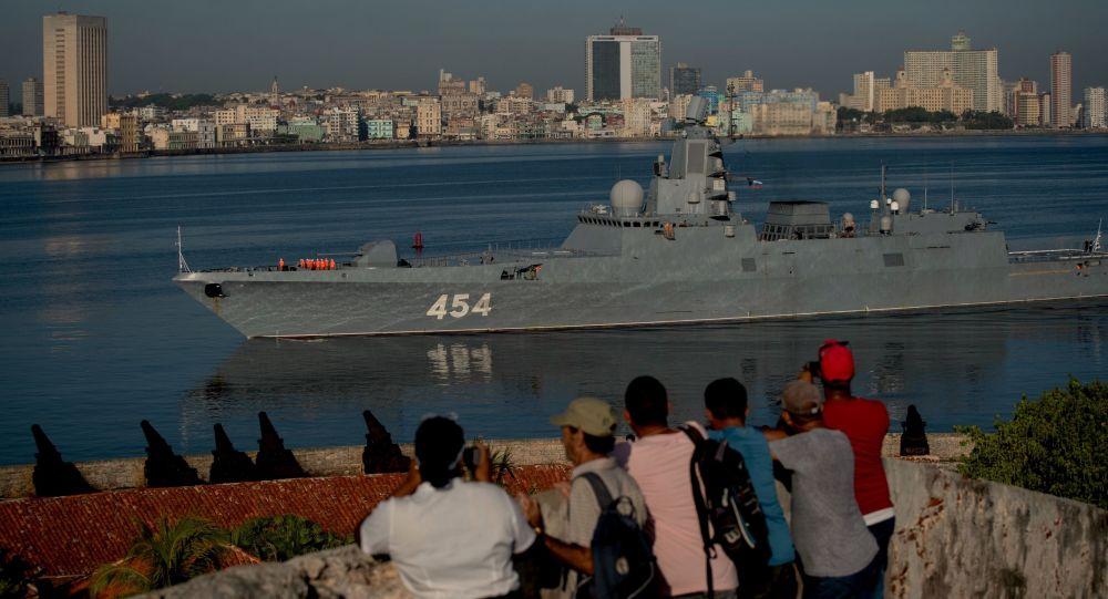 Przybycie oddziału okrętów Floty Północnej do Hawany, Kuba