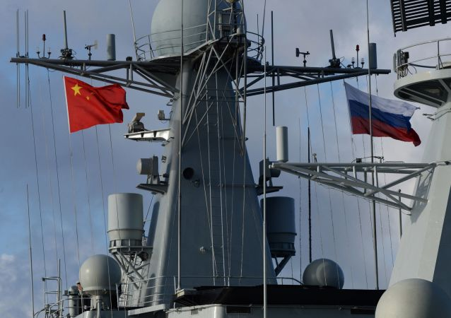 Rosyjsko-chińskie manewry Morskie współdziałanie-2017
