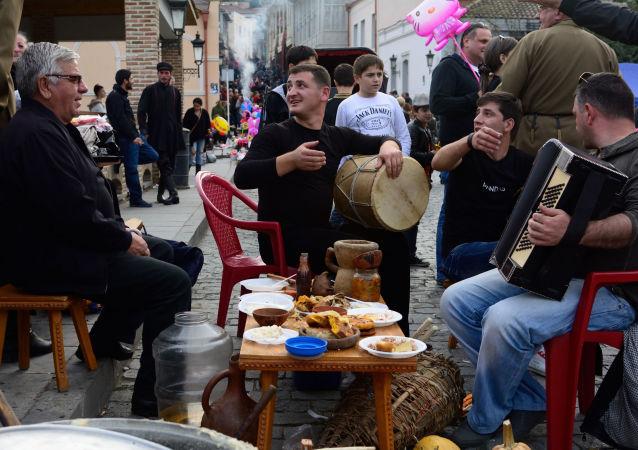 Festiwal wina w Gruzji