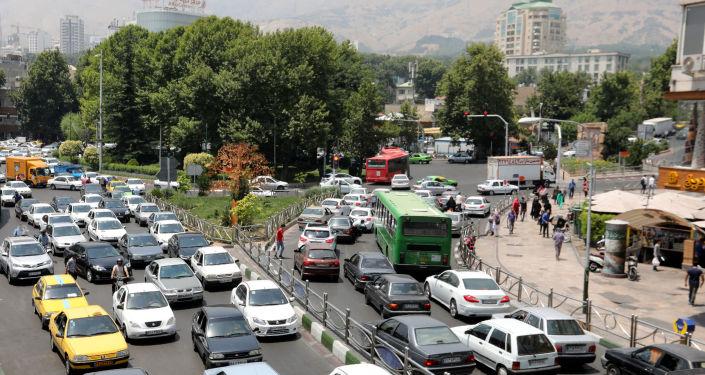 Ciężarówka wjechała w ścianę ambasady Rosji w Teheranie