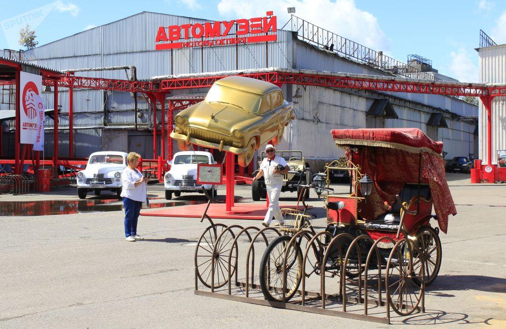 """Nowe muzeum motoryzacji """"Pojazdy października"""" w Moskwie"""