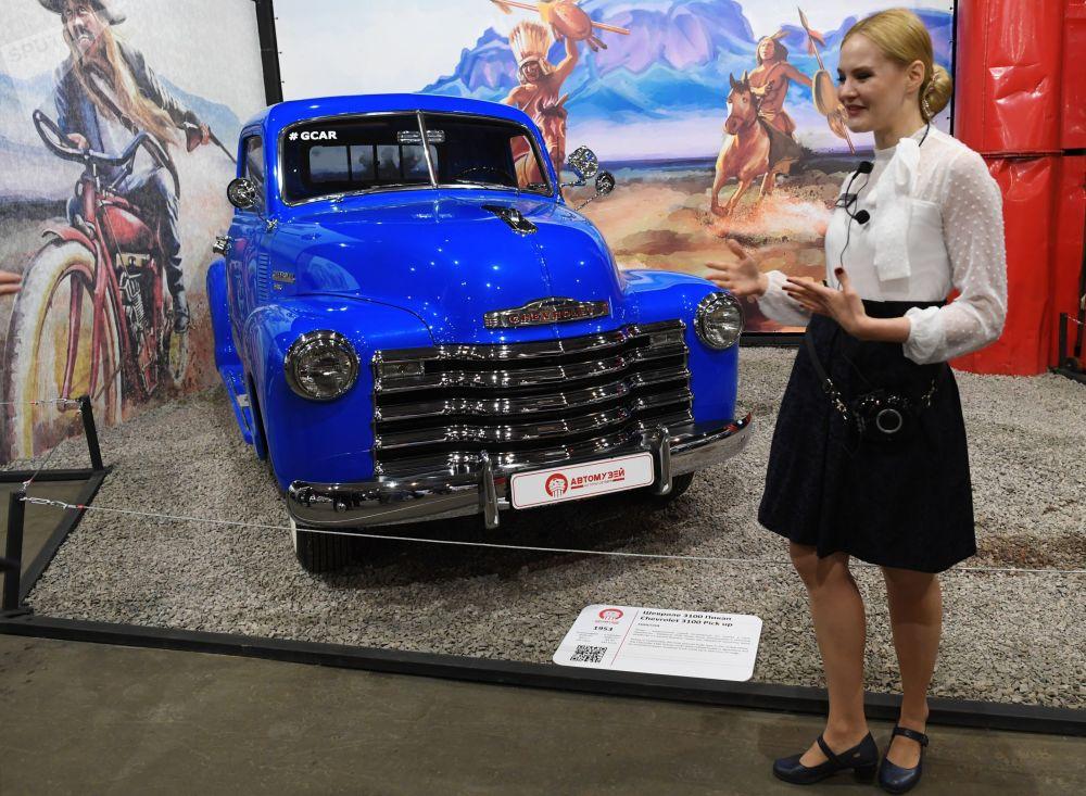 Samochód Chevrolet 3100 pick up