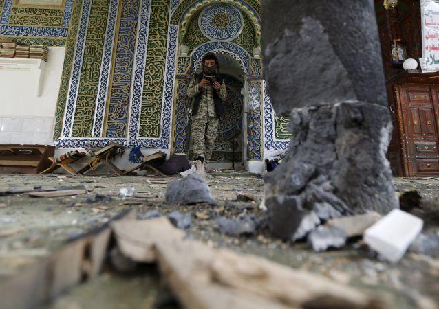 Wybuch w meczecie w Sanie, Jemen