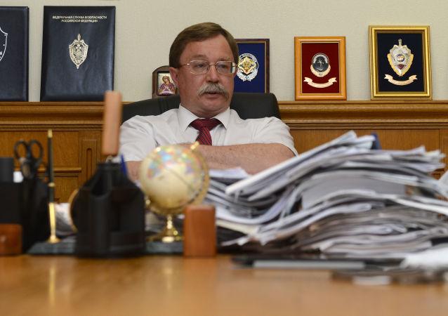 Dyrektor departamentu ds. nowych wyzwań i zagrożeń MSZ FR Ilja Rogaczew