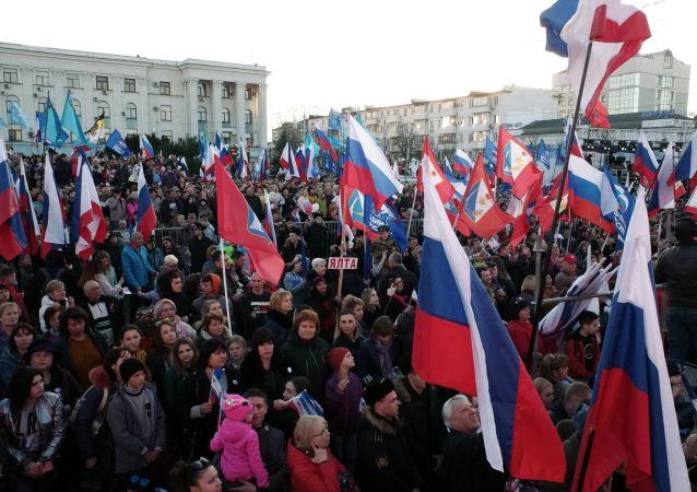 Piąta rocznica powrotu Krymu do Rosji