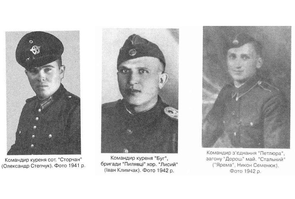 Dowódcy Ukraińskiej Powstańczej Armii w latach 1941-1942.