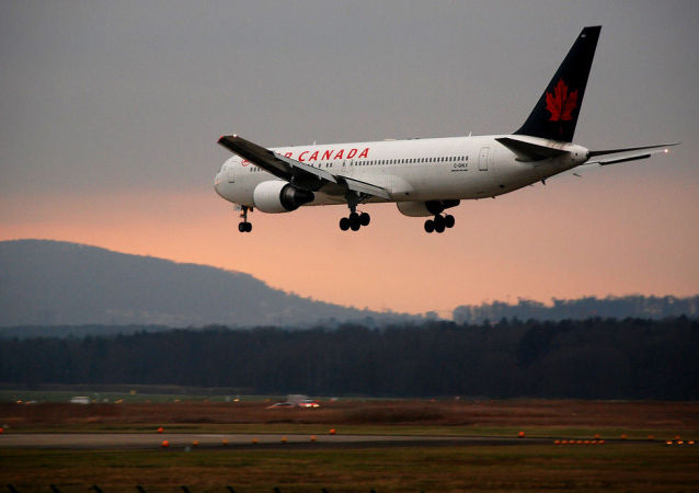 Samolot linii Air Canada