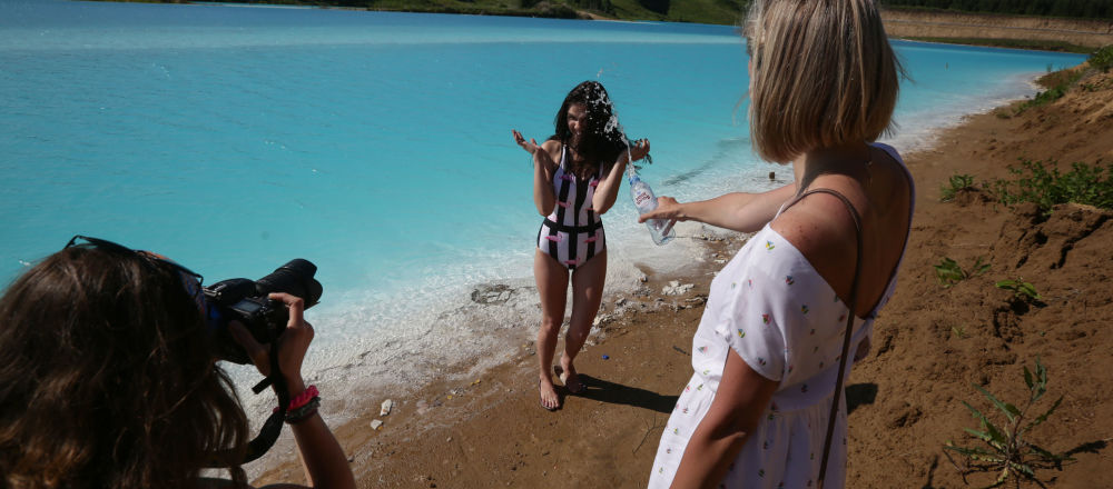 """""""Syberyjskie Malediwy"""" - lazurowe jezioro niedaleko Nowosybirska"""