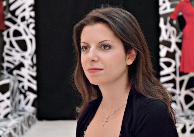 """Redaktor naczelna MIA """"Rossiya segodnya"""" i stacji telewizyjnej RT Margarita Simonian"""
