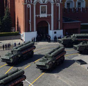 S-400 na Placu Czerwonym w Moskwie
