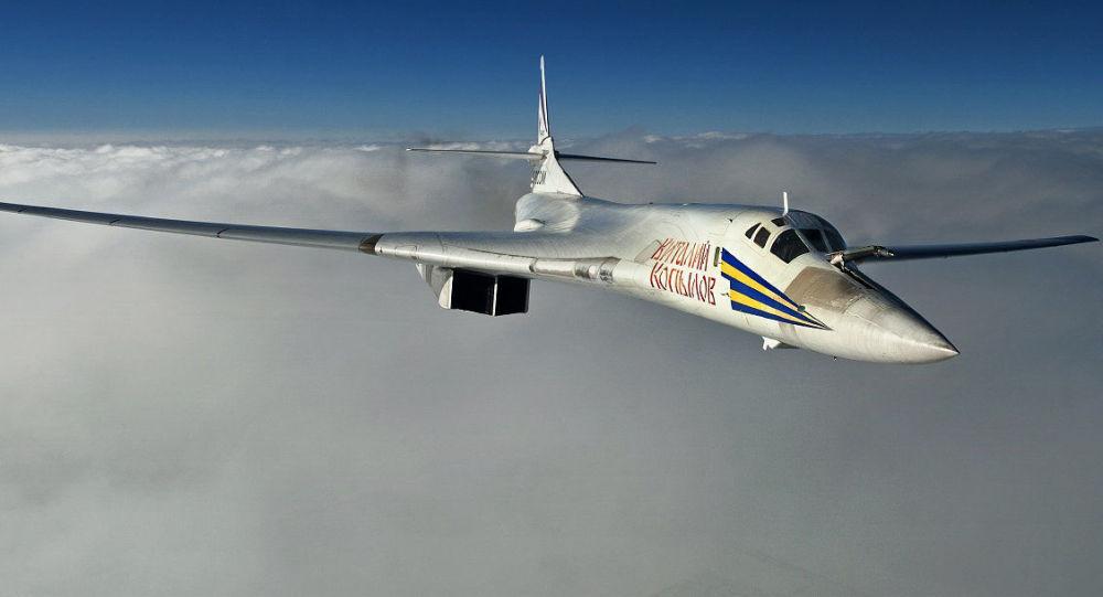 Strategiczny bombowiec Tu-160