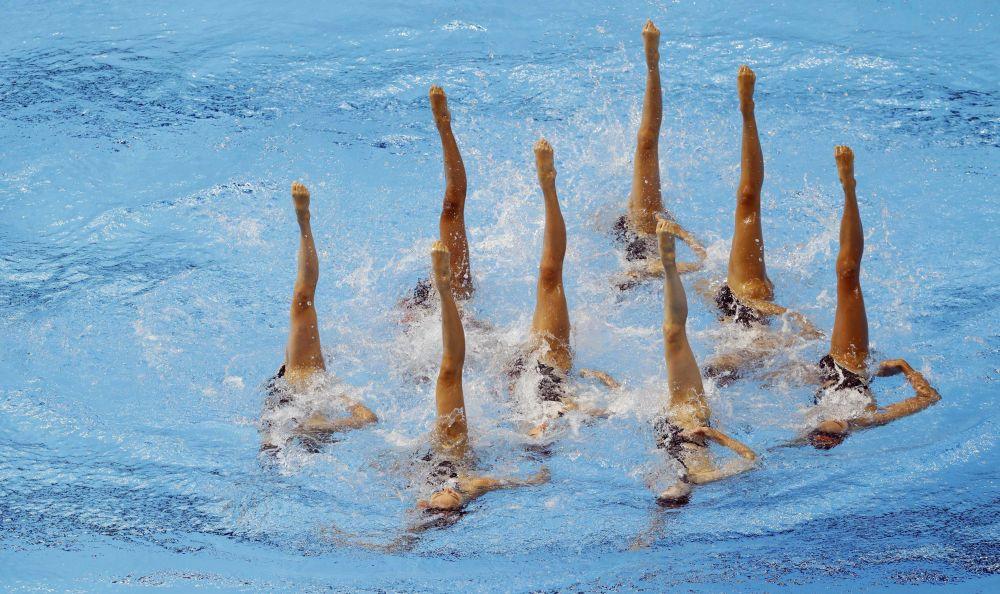Reprezentacja Japonii na pływackich mistrzostwach świata w południowokoreańskim Gwangju