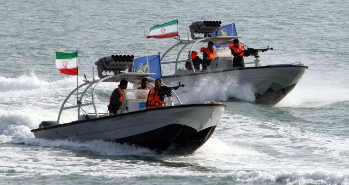 Łódka Korpusu Strażników Rewolucji Islamskiej