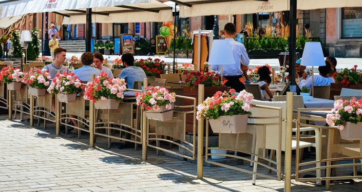 Kawiarnia w Warszawie