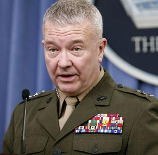 Szef Centralnego Dowództwa USA Kenneth McKenzie