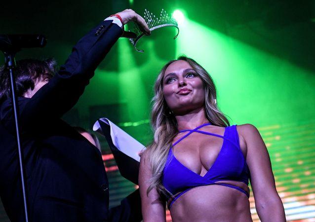 Zwyciężczyni konkursu Miss Maxim 2019 26-letnia Wiktoria Curanowa z Wołogdy