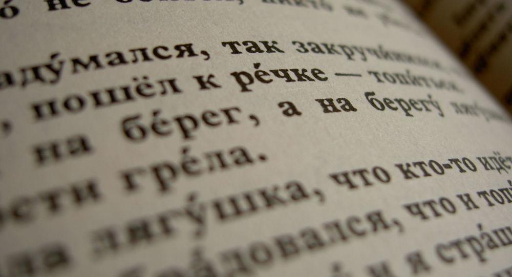 Książka w języku rosyjskim