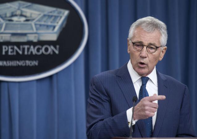 Były szef Pentagonu Chuck Hagel