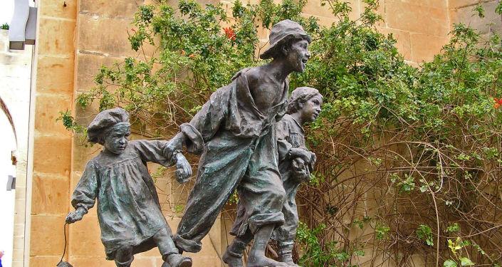 Pomnik Gavroche'a na Malcie