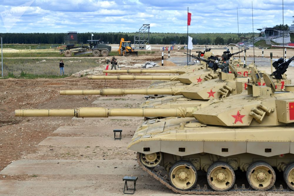 Chińskie czołgi Typ 99 (ZTZ-99)