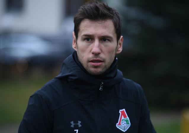 Gracz Lokomotywy Grzegorz Krychowiak