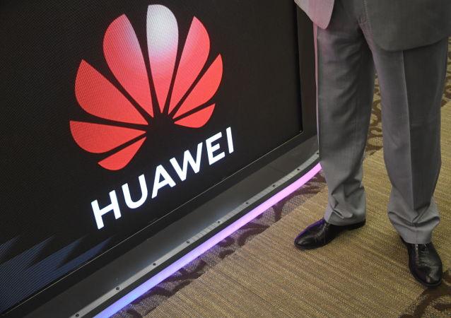 Logotyp firmy Huawei