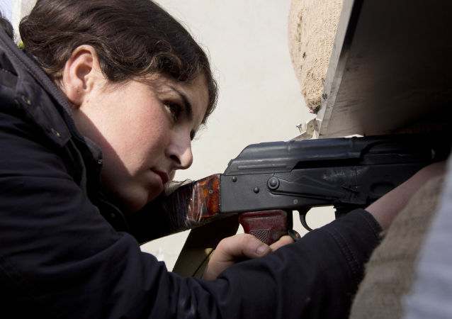 Syryjska kobieta