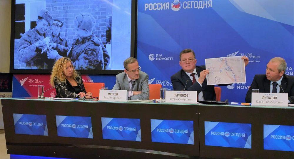Posiedzenie okrągłego stołu w Agecji Informacyjnej MIA Rossiya Segodniya na temat Powstania Warszawskiego