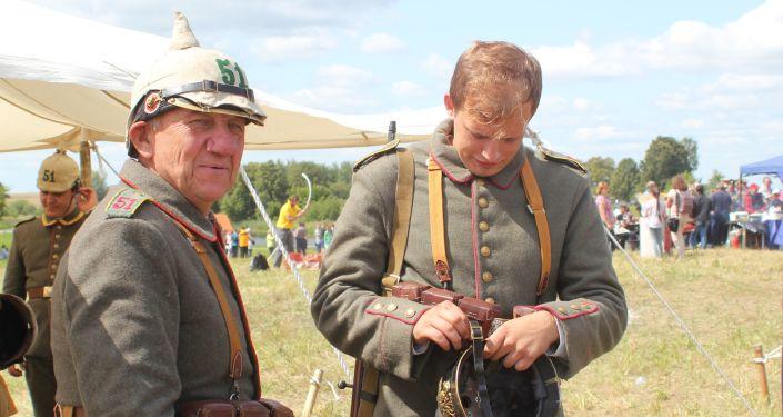 Władysław Gliński (po lewej)