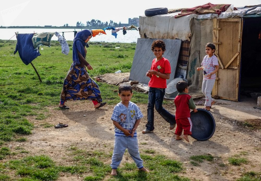 Uchodźcy z Syrii w Libanie