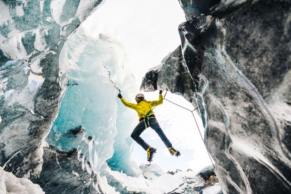 Alpinista Hansjorg Auer, który zmarł podczas wspinaczki na Howse Peak w Kanadzie