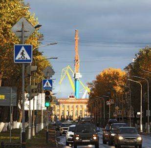 Prospekt Lenina w Siewierodwińsku