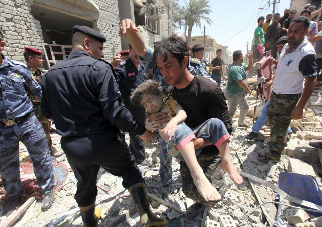 Po wybuchu bomby, Baghdad