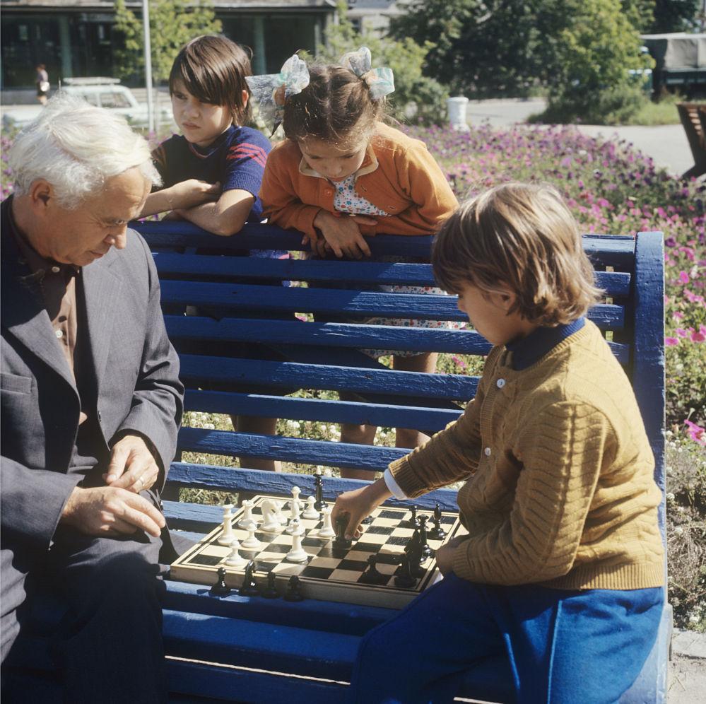 Dzieci grają w szachy, 1973 rok