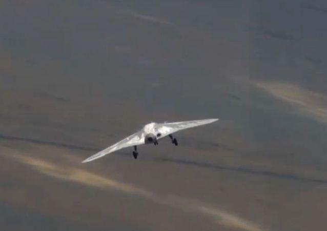 """Rosyjski dron bojowy """"Ochotnik"""""""