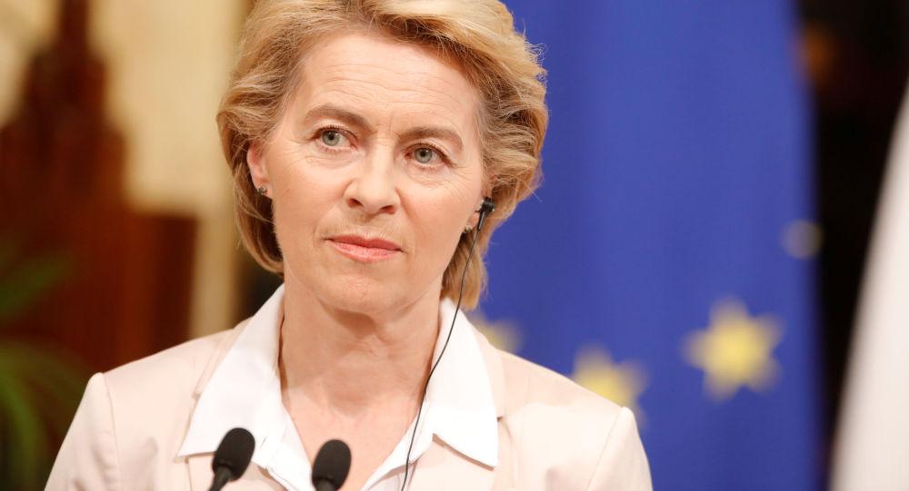 Przewodnicząca Komisji Europejskiej Ursula von der Lajen