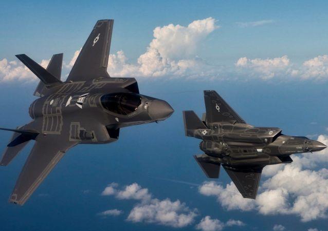 Myśliwce F-35 w tureckiej przestrzeni powietrznej