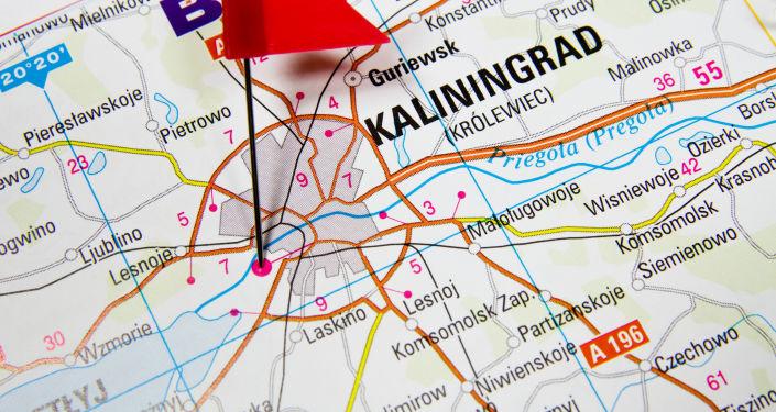Kaliningrad na mapie