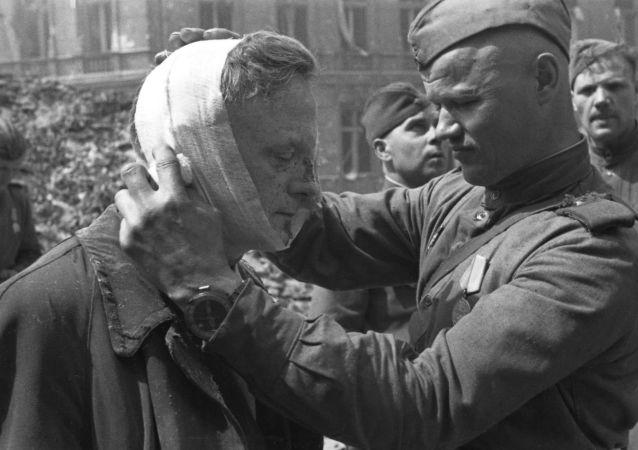 Żołnierz Armii Czerwonej