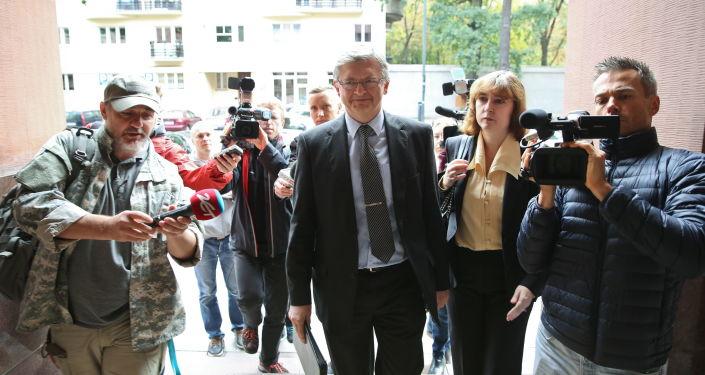 Ambasador Rosji w Polsce Siergiej Andriejew