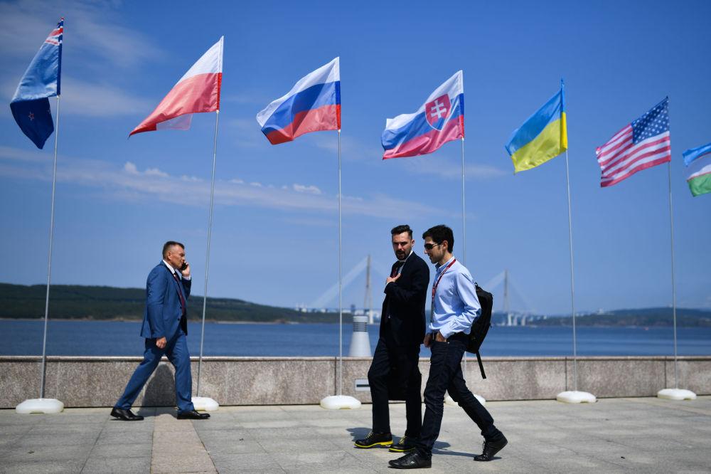 Goście na V Wschodnim Forum Ekonomicznym we Władywostoku