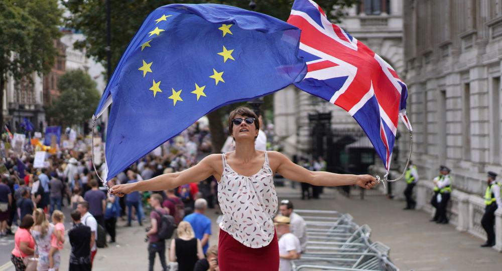 Protest przeciwników Brexitu w Londynie