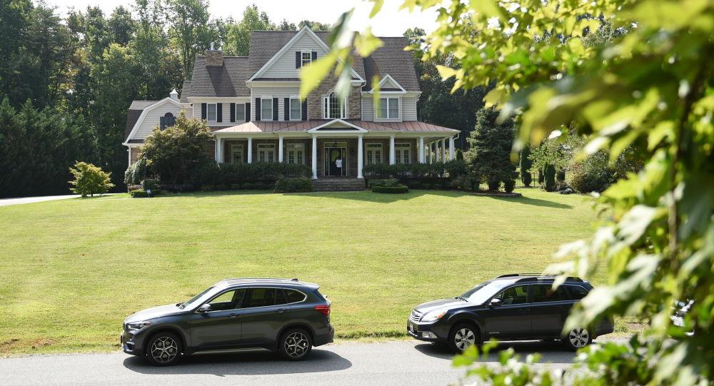 Dom rzekomo informatora USA Olega Smolenkowa w Stafford, Wirginia